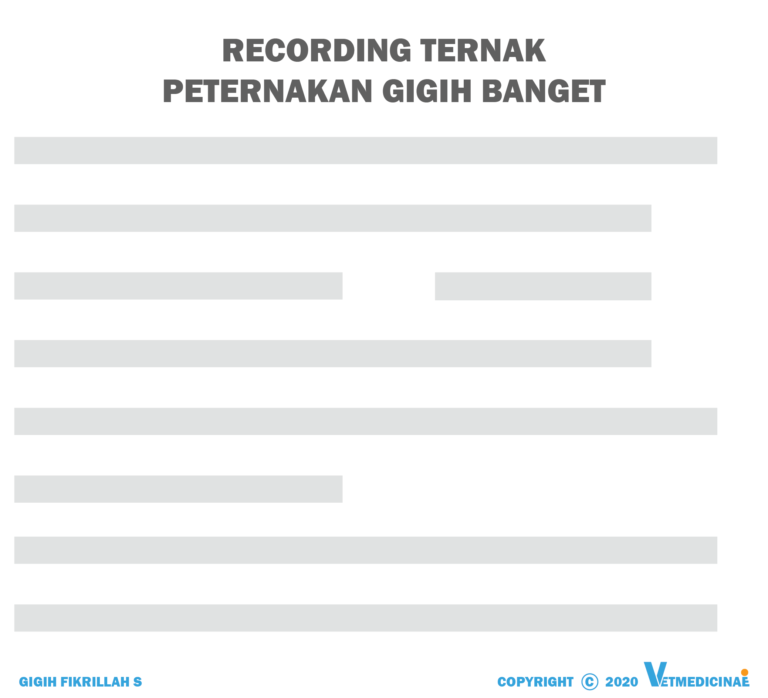 recording ternak
